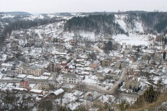 Вид з гори Бона